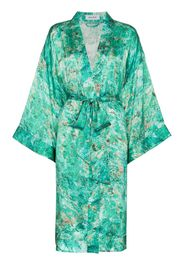 Abito a kimono Chrysocolla