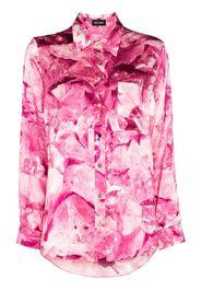 Smith floral print pyjama top