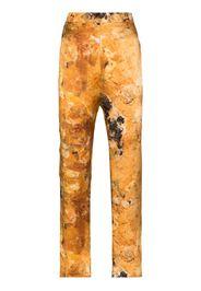 Ripley watercolour-print trousers