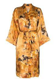 Rossellini silk kimono robe
