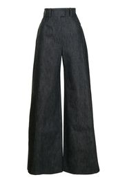 Martin Grant Jeans a gamba ampia - Blu