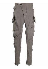Masnada skinny-cut cargo trousers - Grigio