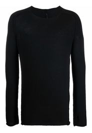 Masnada long-sleeve knitted jumper - Nero