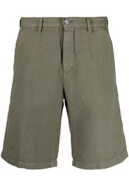 Massimo Alba cotton-linen blend shorts - Verde