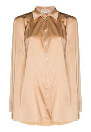 Materiel buttoned long-sleeve blouse - Toni neutri