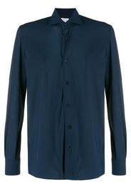 French collar tailored shirt