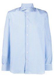 Mazzarelli Camicia a quadri - Blu