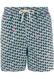 ice lolly print swim shorts