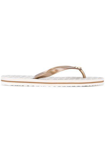 branded flip flops