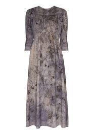 Georgia tie-dye effect lace dress