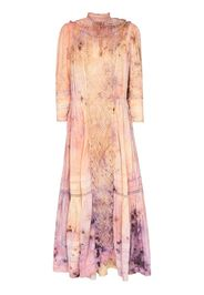 Victoria tie-dye midi dress