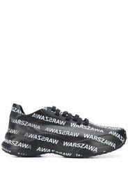 Warszawa printed sneakers