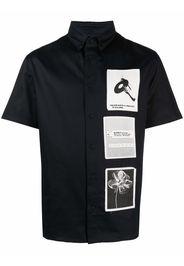 MISBHV Camicia con applicazione - Nero