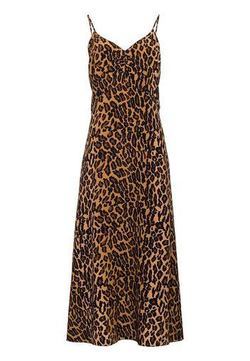 Vestito con stampa leopardo