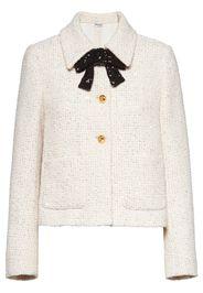tweed cropped jacket