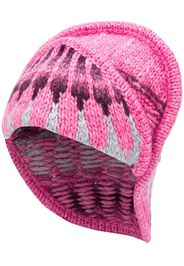 intarsia knitted beanie