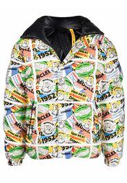 Moncler Genius 1952 Kunitachi high-neck puffer jacket - Bianco