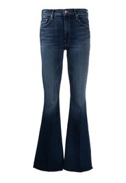 Mother mid-rise flared jeans - Blu