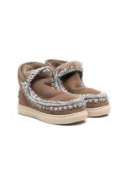 crochet stitch sneaker boots