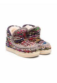 Mou Kids Eskimo sheepskin boots - Rosa