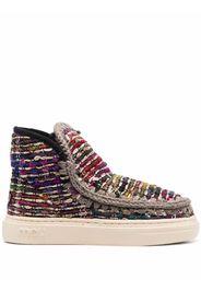 Mou Eskimo textile sneakers - Nero
