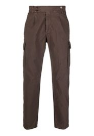 Myths tapered-leg cargo trousers - Marrone
