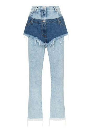 Jeans con shorts