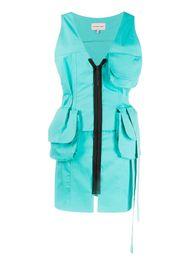 two-pocket cargo dress