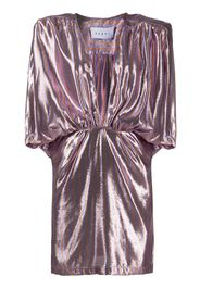 Chloe metallic-print dress