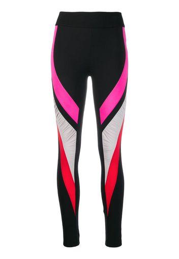 Leggings con design color-block