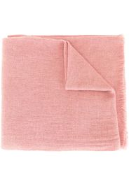 NORLHA knitted yak wool scarf - Rosa