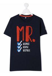 North Sails Kids T-shirt con stampa - Blu