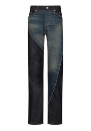 Paname panelled jeans