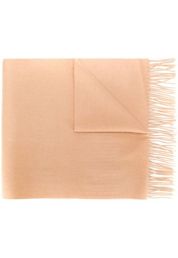 large woven cashmere scarf