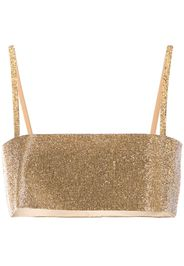 Top con strass