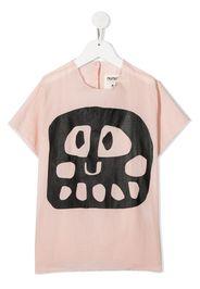 face print blouse