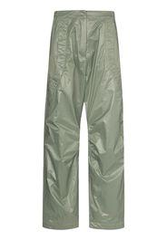 Paria Farzaneh high-waist straight-leg trousers - Verde