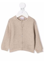 Paz Rodriguez buttoned wool-cashmere cardigan - Marrone