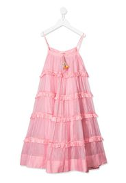 voile tiered dress