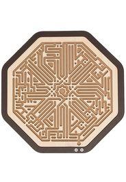 Pinetti Labirinto ottagonale a taglio laser - Marrone