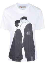 Ports 1961 T-shirt con stampa - Bianco