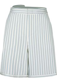 PortsPURE Shorts a righe lunghi - Bianco