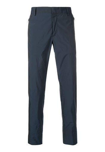 Pantaloni sartoriali con effetto stropicciato
