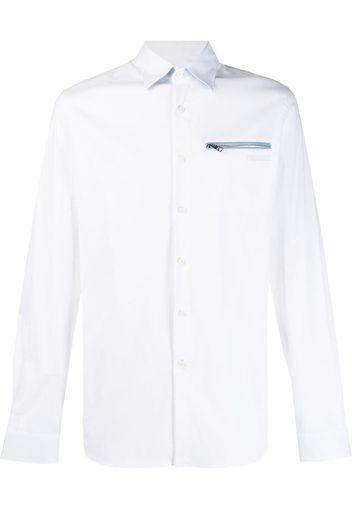 Camicia con zip