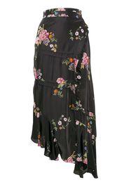 Kalifa floral print skirt