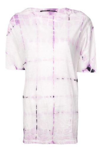 T-shirt con tintura a nodi