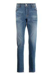 Pt05 Jeans skinny a vita bassa - Blu