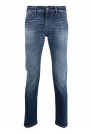 Pt05 light-wash slim fit jeans - Blu