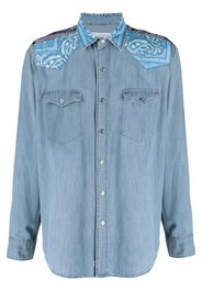 Re-Worked Camicia denim - Blu