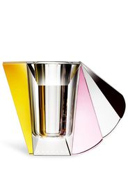 Manhattan colour-block vase